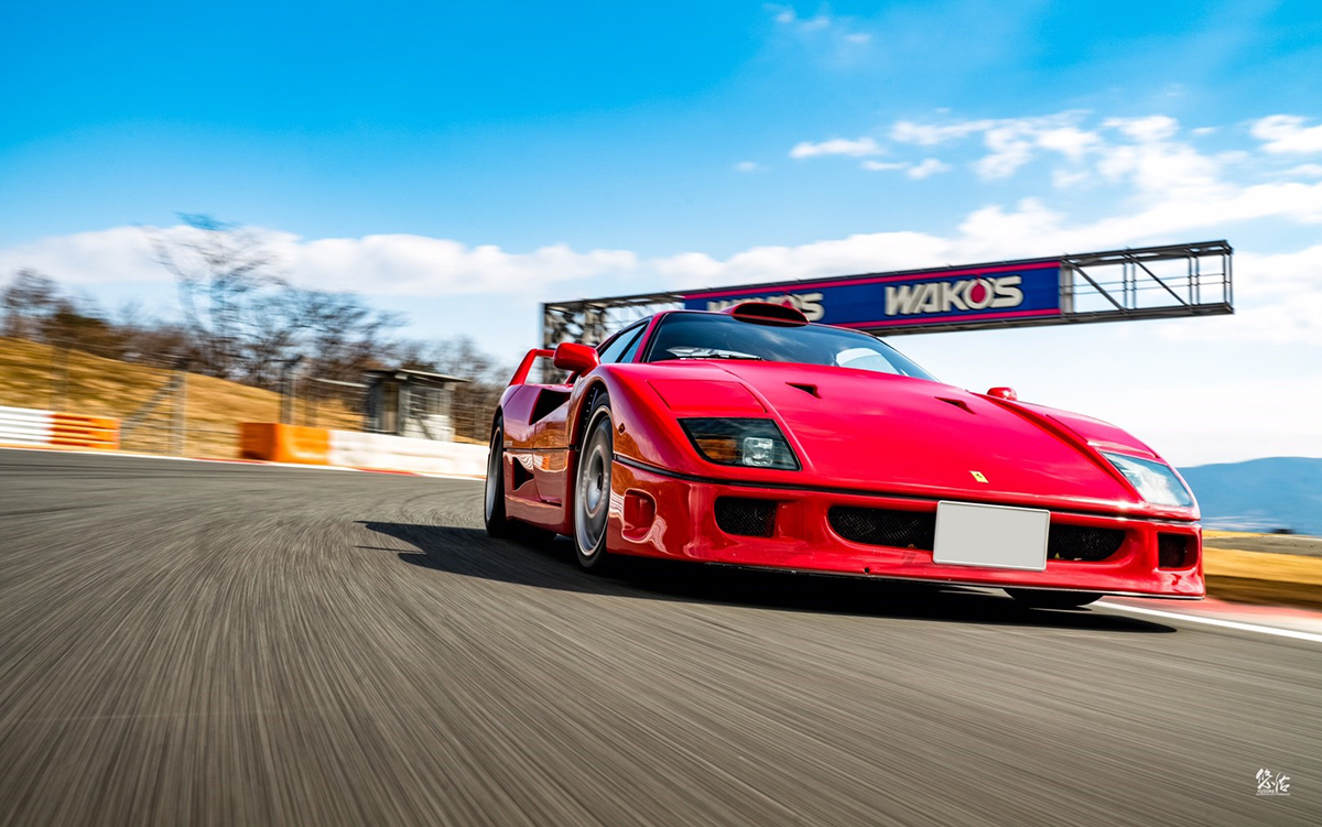 Photography – Ferarri F40 車真 | PHOTO by YUSUKE