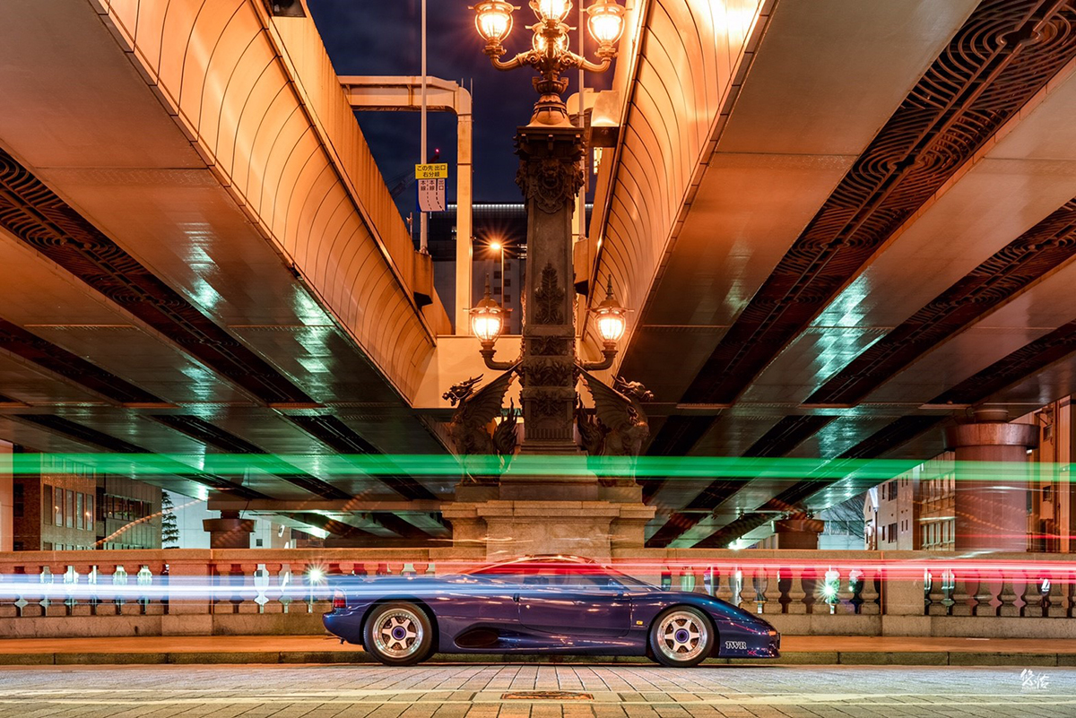 Jaguar XJR15 桜 | 車真