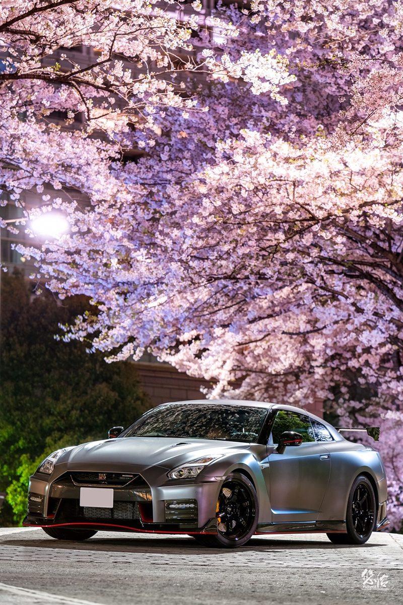 NISSAN GT-R NISMO 桜×車真