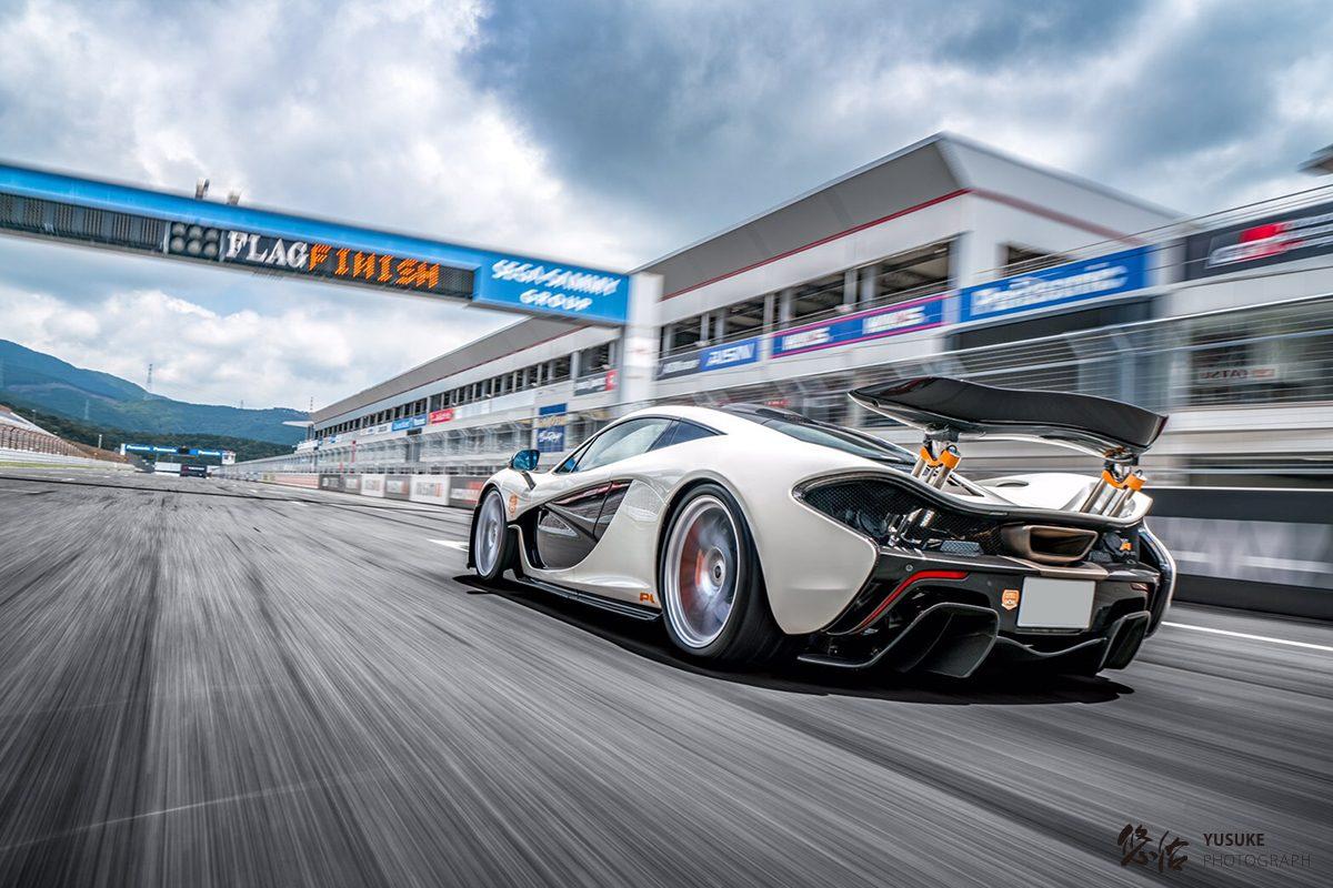 McLaren P1  | 車真 並走撮影