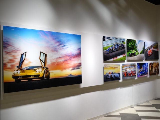悠佑 作品展 | - 車真 - 今を生きる車たち ソニーストア大阪